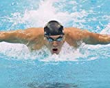 Poster Michael Phelps Olympic USA Swimmer 30,5 x 30,5 cm