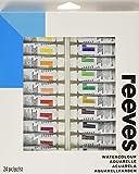 Reeves - Set de 24 tubos de acuarela, 10 ml