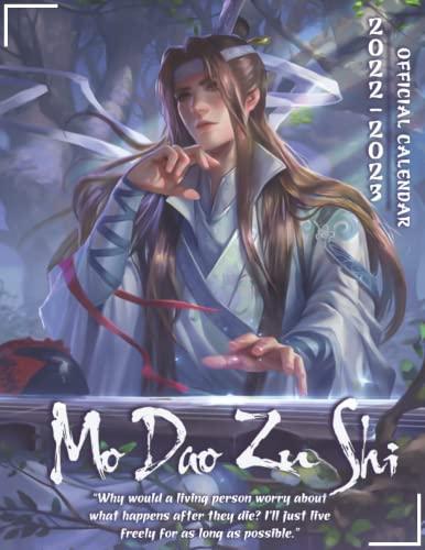 Mo Dao Zu Shi 2022 Calendar: Grandmaster of Demonic Cultivation Yaoi-Manga OFFICIAL Calendar 2022-2023 ,Calendar Planner with 18 Exclusive Ten ... the World!(Anime Gifts, Office Supplies)