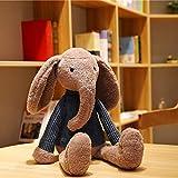 N / A 1 unid 55 cm Conejo Elefante Juguete de Felpa bebé niños apaciguar Almohada para Dormir muñeca Animal Peluche Regalo de cumpleaños para niñas 55 cm
