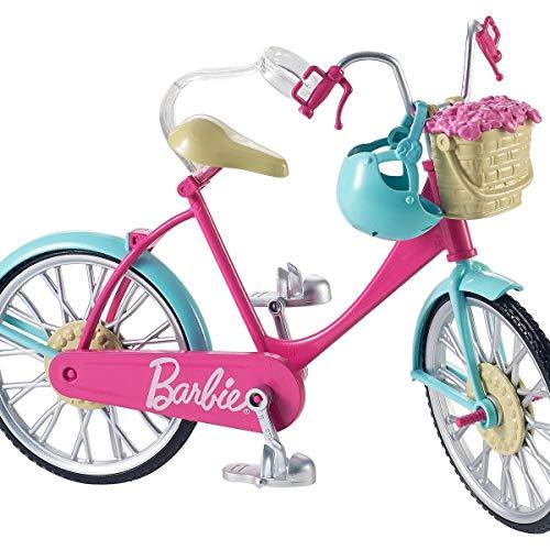 Barbie Bicicleta, accesorios muñeca barbie (Mattel DVX55
