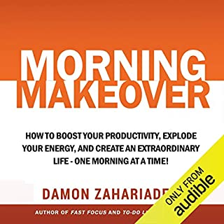 Morning Makeover audiobook cover art