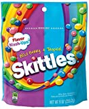 Skittles Flavor Mash Ups Wild Berry and Tropical Candy, 9 Ounce -- 8 per case.