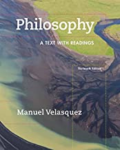 Best philosophy a text with readings 13th edition Reviews