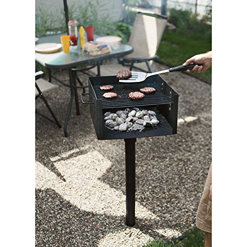 Park-Style Grill - Commercial-Grade, 256 sq. in.