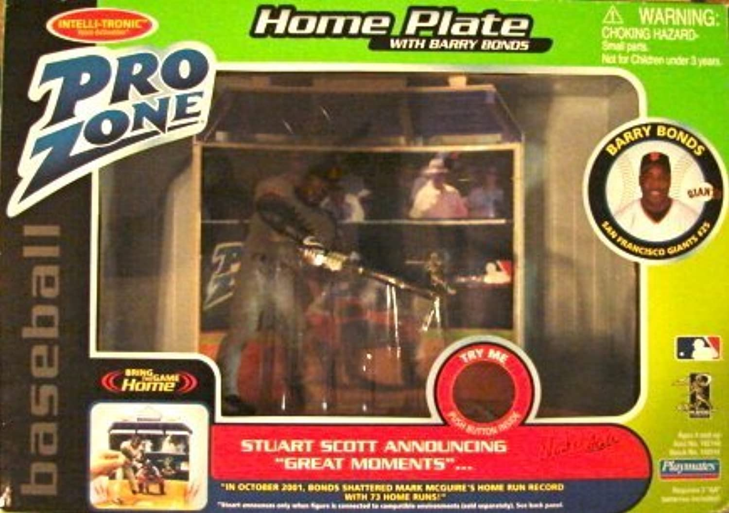 Pro Zone Home Plate with Barry Bonds