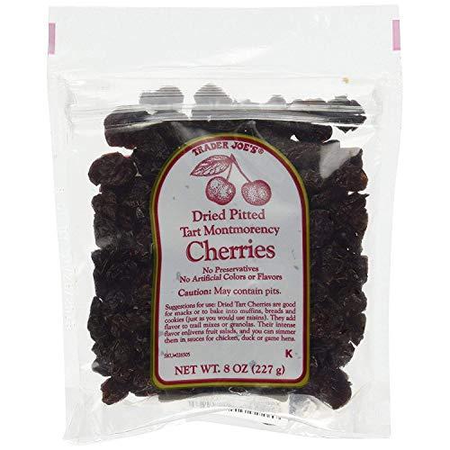 2 Packs Trader Joe#039s Dried Pitted Tart Montmorency Cherries