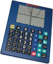 Low Vision Talking Scientific Graphing Calculator-English-Spanish-Blue