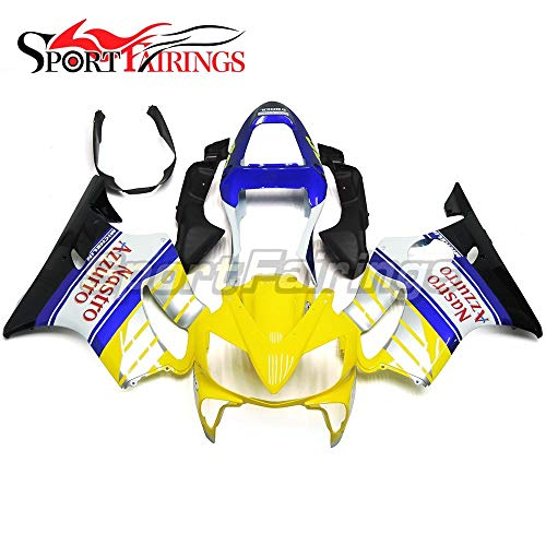 Sportbikefairings Motorcycle Injection ABS Plastic Full Fairings For Honda CBR 600 F4i 2001 2002 2003 Gloss Yellow Blue Body Kits Free Gifts Customized