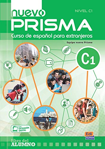 nuevo Prisma C1 - Libro del alumno + CD: Student Book +CD: 5