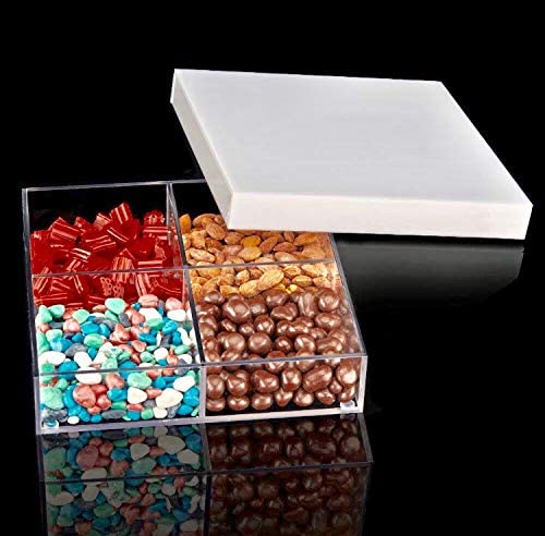 Acrylic Storage Ranking TOP16 Container- OFFer Square Compartme 4