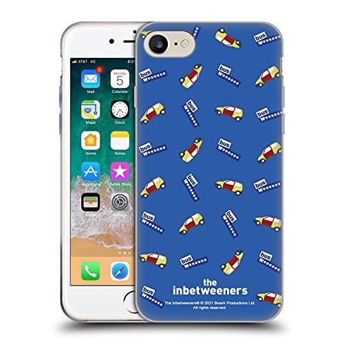 Head Case Designs Licenza Ufficiale The Inbetweeners Modello di Auto Grafiche Cover in Morbido Gel Compatibile con Apple iPhone 7 / iPhone 8 / iPhone SE 2020