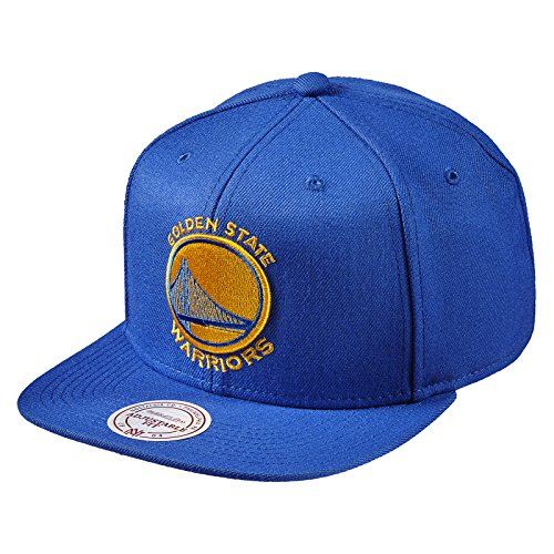 Mitchell & Ness Golden State Warriors NL99Z Solid Team Colour Snapback Caps NBA