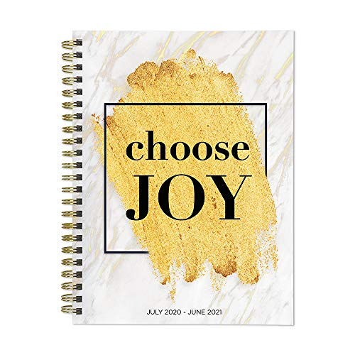 Choose Joy Medium Daily Weekly Monthly July 2020 - June 2021 Planner + Coordinating Planning Stickers