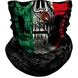 Seamless Neck Gaiter Shield Scarf Bandana Face Mask Seamless UV Protection for Motorcycle Cycling Riding Running Headbands (A-011)