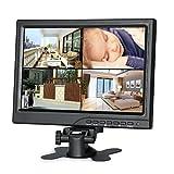 Koolertron 小型液晶モニター 1280ディスプレイモニター DSLR/PC/CCTVカメラ/DVD/車バックアップカメラ/ホームオフィス監視のためのHDMI/VGA/AVポート 液晶モニターセキュアシステム