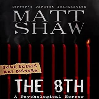 The 8th: A Tale of Horror and Revenge                   By:                                                                                                                                 Matt Shaw                               Narrated by:                                                                                                                                 Julian Seager                      Length: 2 hrs and 26 mins     25 ratings     Overall 4.0