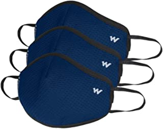 Wildcraft Unisex-Child Polyester SUPERMASK W95+ Reusable Outdoor Respirator 3P : Popcorn : BLU_POSDN : S (8903338297833 Sm...
