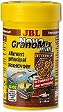 JBL Aliments de Base pour Petits Poissons d'Aquarium, Granulés, NovoGranoMix, Taille XS, 100 mL
