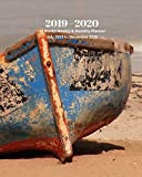 2019 - 2020   18 Month Weekly & Monthly Planner July 2019 to December 2020: Row Boat on the Beach Ocean Vol 32 Monthly Calendar with U.S./UK/ ... Holidays– Calendar in Review/Notes 8 x 10 in.