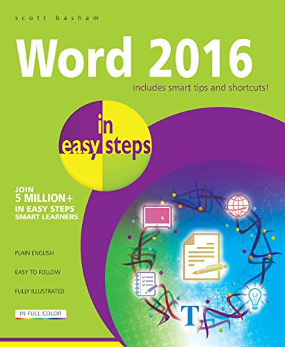 Word 2016 in easy steps (English Edition)