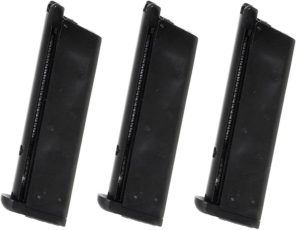 Airsoft Spare Sale special price Parts WE WE-TECH Tactical Gas Special price 16rd Magazine 3pcs