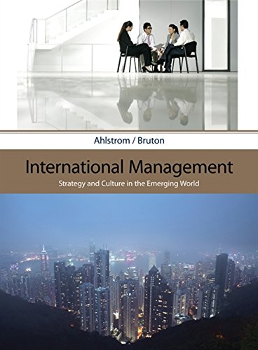 International Management: Strategy and Culture in the Emerging World