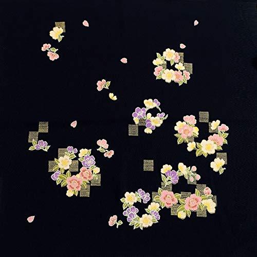 風呂敷 最高級丹後ちりめん ハンカチ お土産 日本製 made in japan 45×45 和風 和柄 花 梅