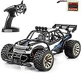 1 batería recargable mejor regalo for los niños, controlado de radio Race Buggy Hobby coche eléctrico campo a través coche teledirigido RTR Buggy RC Monster Truck 1:16 2WD 2,4 GHz con alta velocidad h