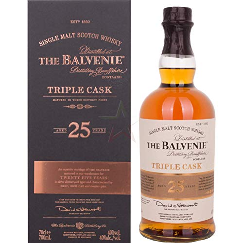 The Balvenie 25 Years Old Triple Cask 40,00% 0,70 Liter