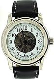 BOXX M4102.01 - Orologio da polso da uomo, cinturino in pelle colore nero