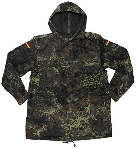 European Military German Army (Bundeswehr) Flecktarn Parka (GER GR19 US 43/74-78)