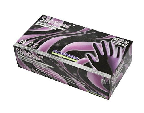 Shadow Nitrile Powder-free Examination Gloves offer 100 percent latex-free. Softer elasticity provides puncture-resistance, tear-resistance and chemical-resistance with excellent dexterity. Textured surface provides superior grip in wet or dry applications.
