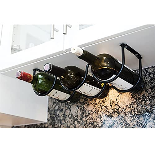 TIANCHE Estantería de Vino Montado en la Pared de la Botella de Vino Cocina Estante Estante Creativo Can Beer Rack Organizer Almacenamiento de Cocina Frigorífico Organizador Estantes