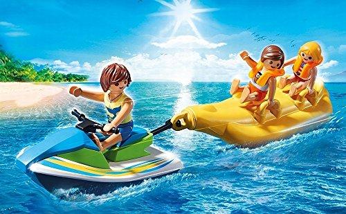 Moto acuática con flotador banana Playmobil - Family Fun (6980)