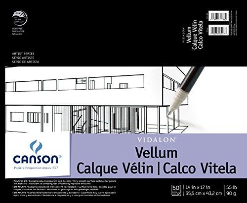 Canson Artist Series Vidalon Vellum Paper Pad
