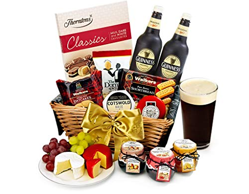 Trafalgar Hamper With Guinness - Hand Wrapped Gourmet Food Basket, in Gift Hamper Box