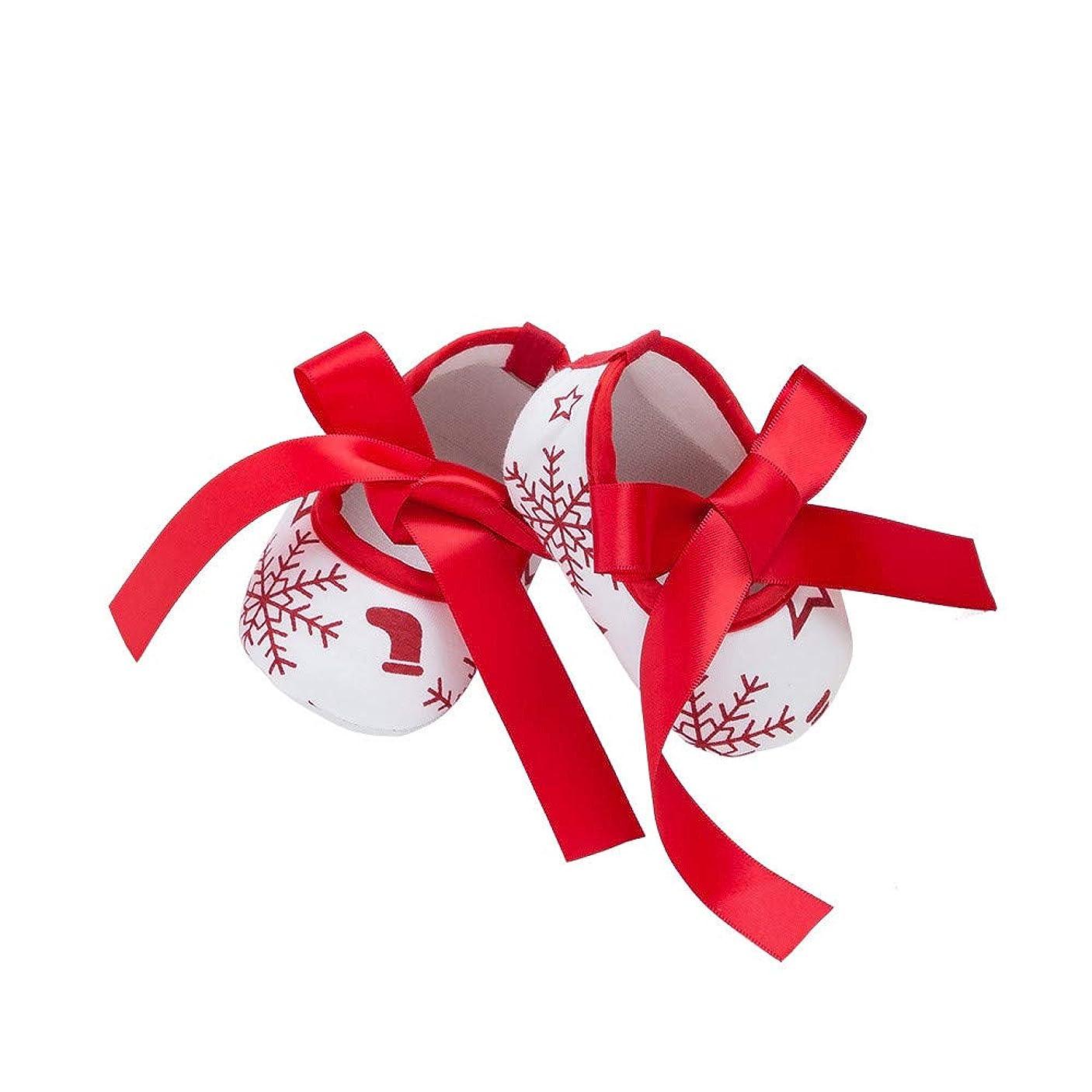 ピンク四媒染剤子供靴 Hosam クリスマス レース 蝶結び 新生児靴 幼児 赤ちゃん靴 ウォームブーツ シューズ ファーストシューズ 男の子 女の子 ベビーシューズ 運動靴 赤ちゃん き心地いい 記念日 誕生日 プレゼント 出産お祝い