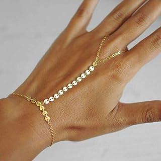 super promotions gamme de couleurs exceptionnelle 50-70% de réduction Amazon.fr : bracelet bague chaine de main