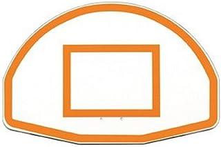 "First Team 36"" x 54"" FT270 Fan-Shaped Aluminum Basketball Backboard"