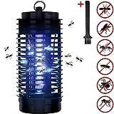 Monzana Insektenfalle elektrisch Elektrischer Insektenvernichter Fliegenfalle 25m² UV Licht 2 Reinigungsbürste Insektenabwehr