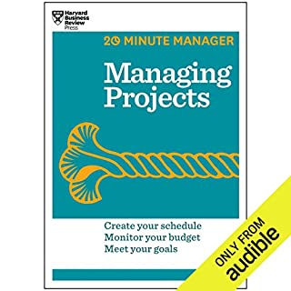 Managing Projects audiobook cover art