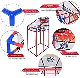 Portzon Basketball Hoop Arcade Game, Adjustable Hoop Shooting Games...