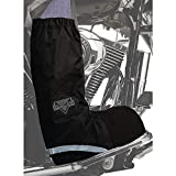 Nelson-Rigg Waterproof Rain Boot Cover (Medium) (Black)