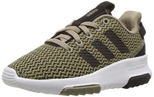 adidas Kids CF Racer TR Running Shoe, Trace Olive/Black/Trace Cargo, 7 M US Big Kid