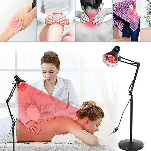 Infrarot Therapielampe, Muskelschmerzen lindernde Licht mit Massage Heizung Licht Relief Constant Temperature Machine für Gelenk und Rückenschmerzen Arthritis Entzündung Wunde - Floor Standing