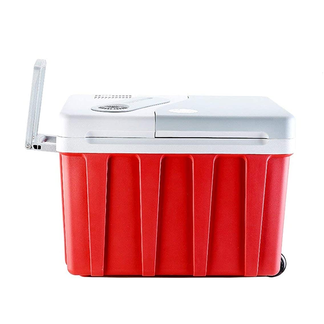 MOM Car Portable Refrigerator -40L Compact Refrigerator Holds 60 X 330Ml Cans |(Red)