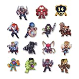 New The Avengers Refrigerator Magnets-Marvel Heroes Fridge Magnets- Set of 14 Marvel Characters-Final Battle Perfect Decorative Magnet (The Avengers)