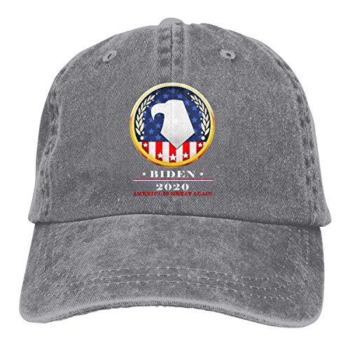Yuanmeiju Gorra de Mezclilla Biden 2020 Election Unisex Vintage Washed Distressed Baseball Cap Twill Adjustable Dad Hat