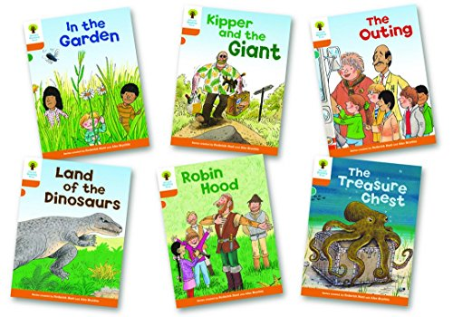 Hunt, R: Oxford Reading Tree: Level 6: Stories: Pack of 6